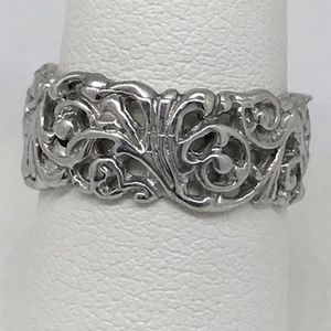 Jewelry - NWT sterling silver .925 filagree band handmade